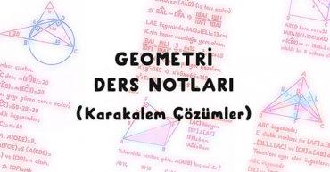 geometri ders notları
