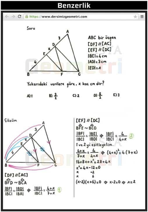 tyt-ayt geometri ders notları