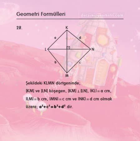 tyt-ayt geometri formülleri
