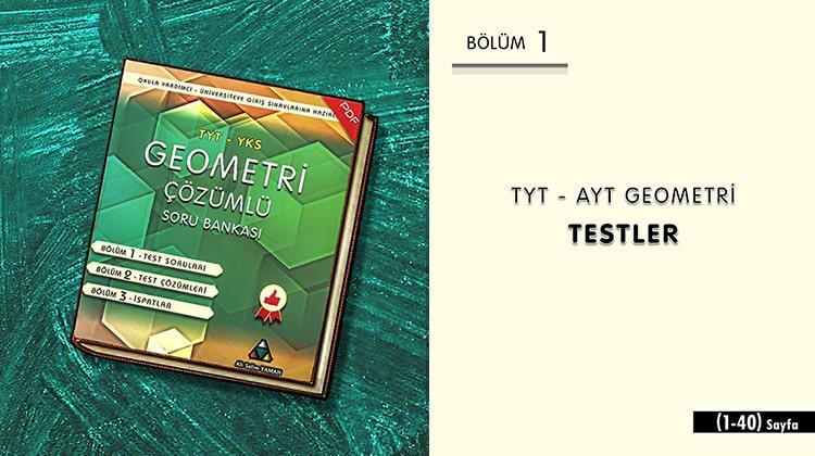 TYT-AYT Geometry Tests