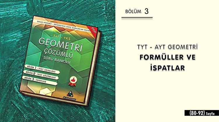 TYT-AYT Geometri İspatları